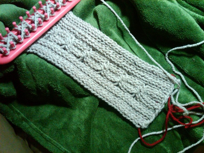 ??? ??????? loom knitting   ?????? ???????